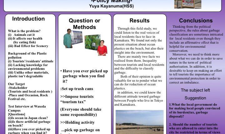 Presentation-Kamakura-Field-work-Yuya-Kayanuma